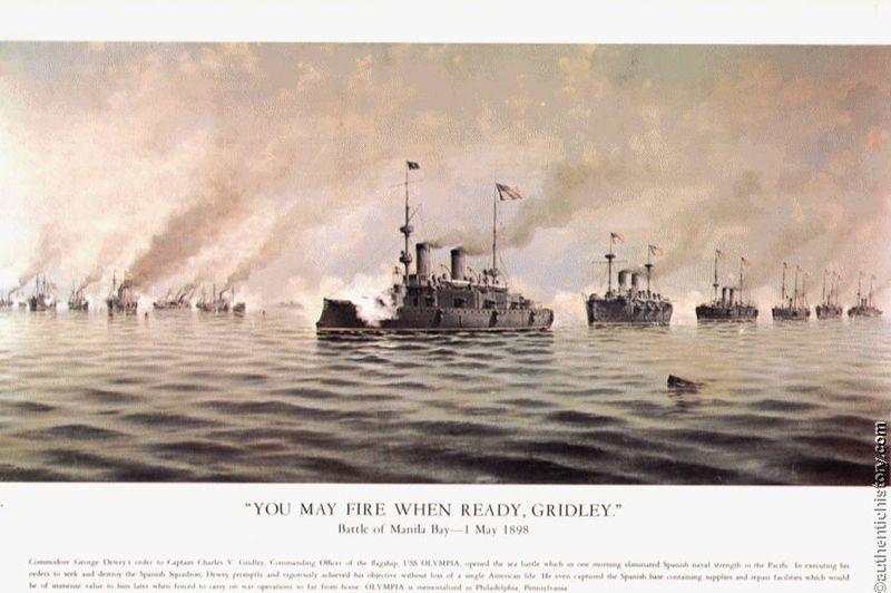 1898_Alfonso_Sanz_Print-Battle_of_Manila_Bay